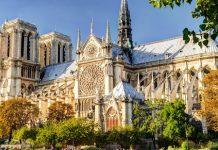 Nhà thờ Đức Bà nước du lịch Pháp